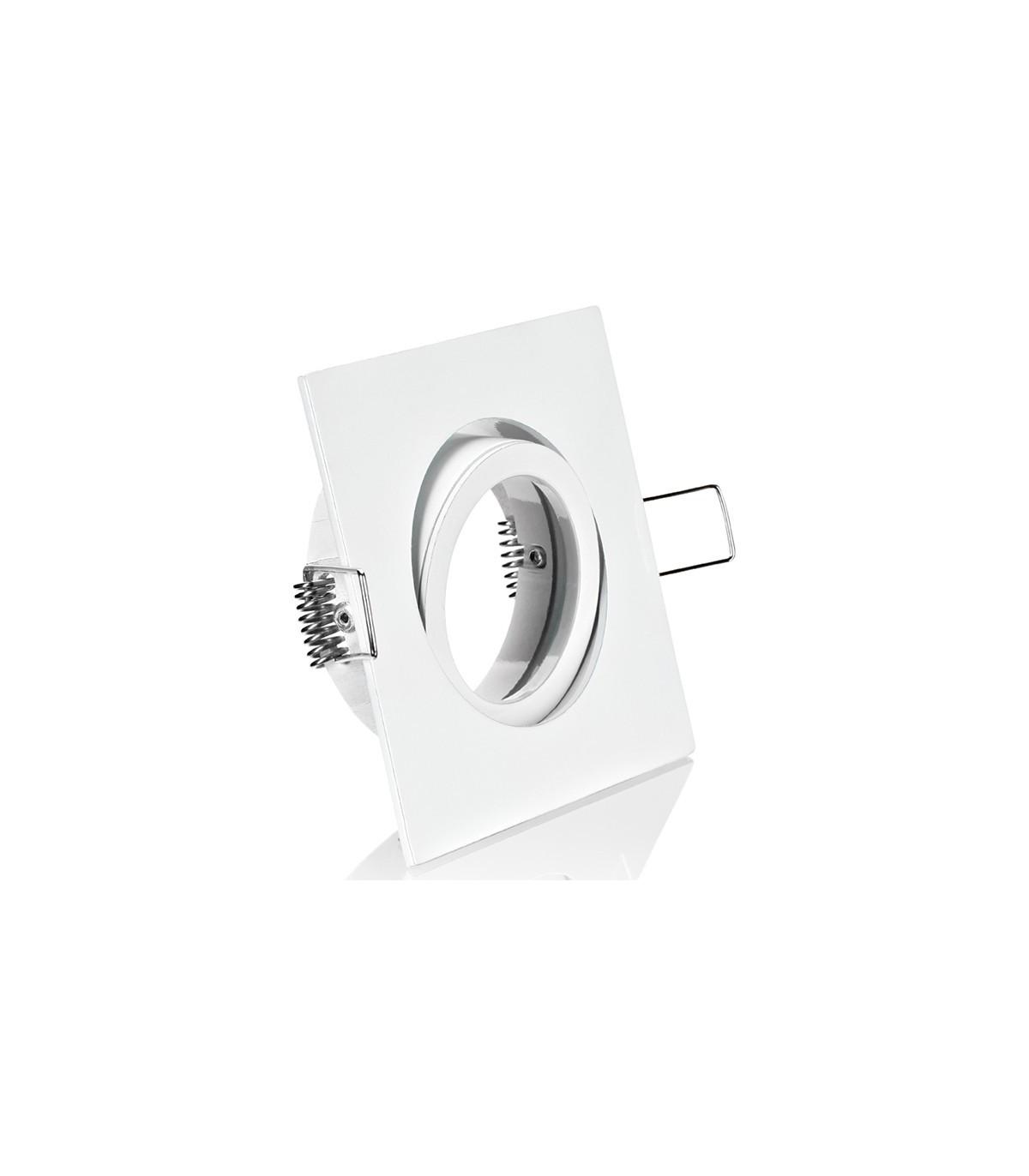 copy of pivoting square spotlight frame for 5 cm white Holder Measure Milwaukeetape