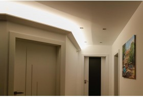 Stucco for indirect LED lighting - DBML-120-ST