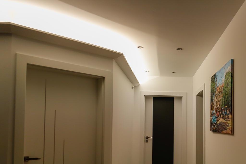 led stuckleiste dbml 120 st f r indirekte beleuchtung decke bendu. Black Bedroom Furniture Sets. Home Design Ideas
