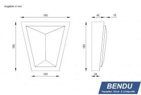"Cap stones for window surrounds ""SSTML-180B-PR"""