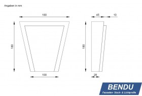 "Cap stones for window surrounds ""SSTML-180A-PR"""