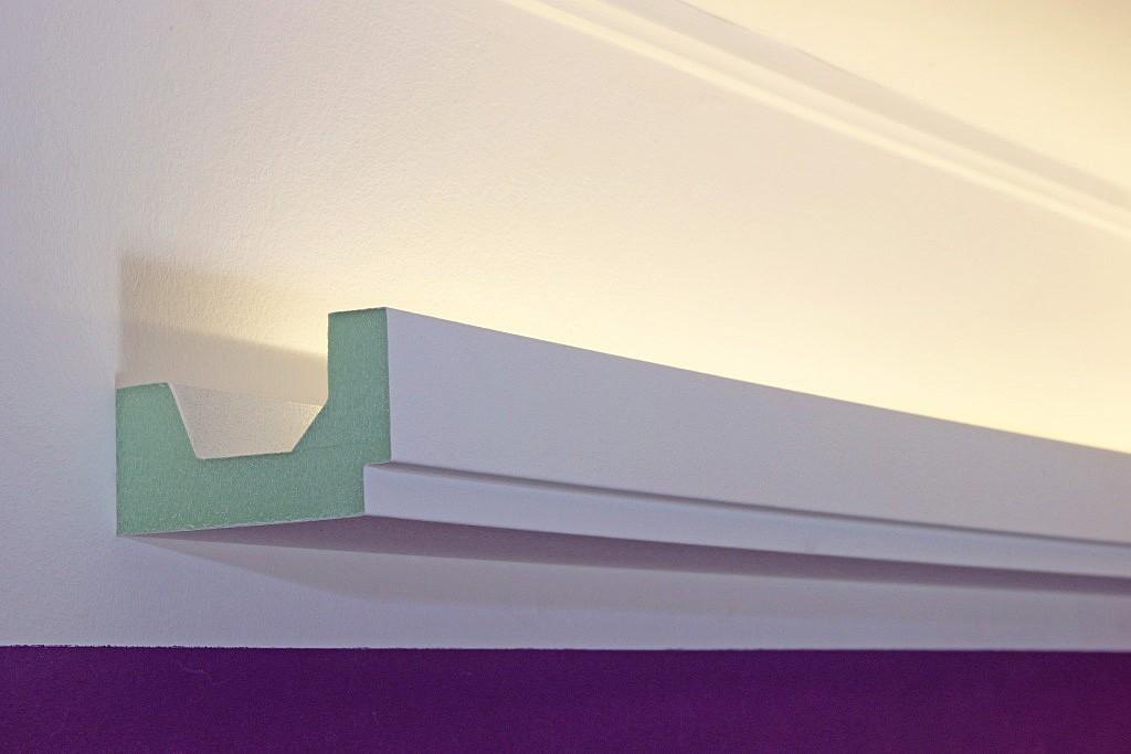 stucco for indirect led lighting dbml 100 pr. Black Bedroom Furniture Sets. Home Design Ideas
