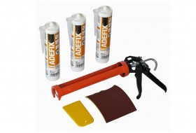 Mounting kit for stucco incl. 3x ADEFIX