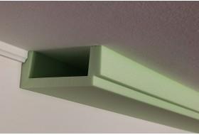 Deckenprofil für die direkte Wandbeleuchtung aus Hartschaum - BSML-180B-ST.