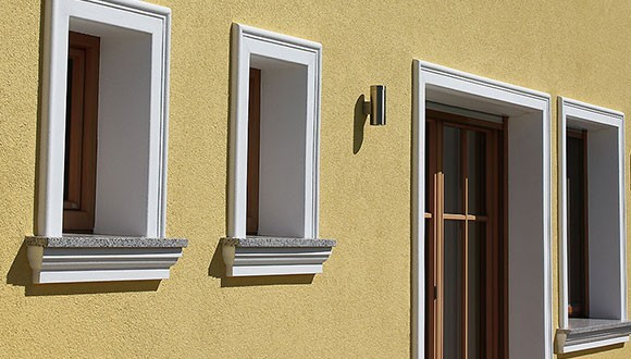 Window Surrounds as Window and Door Frames