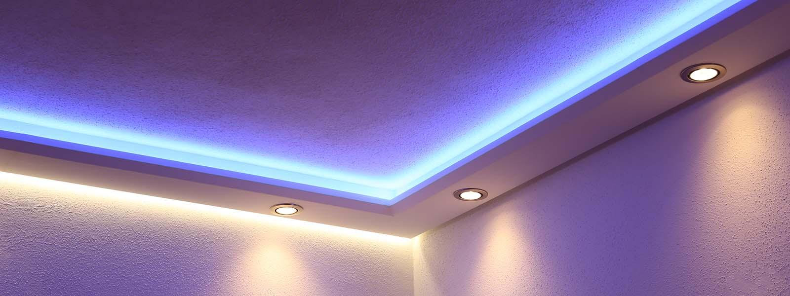 LED Beleuchtung entdecken – Stripes, Spots und Trafos online   BENDU