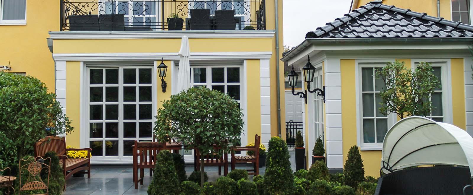 Bossenecken bzw. Bossensteine für die Gestaltung der Außenfassade hier online kaufen