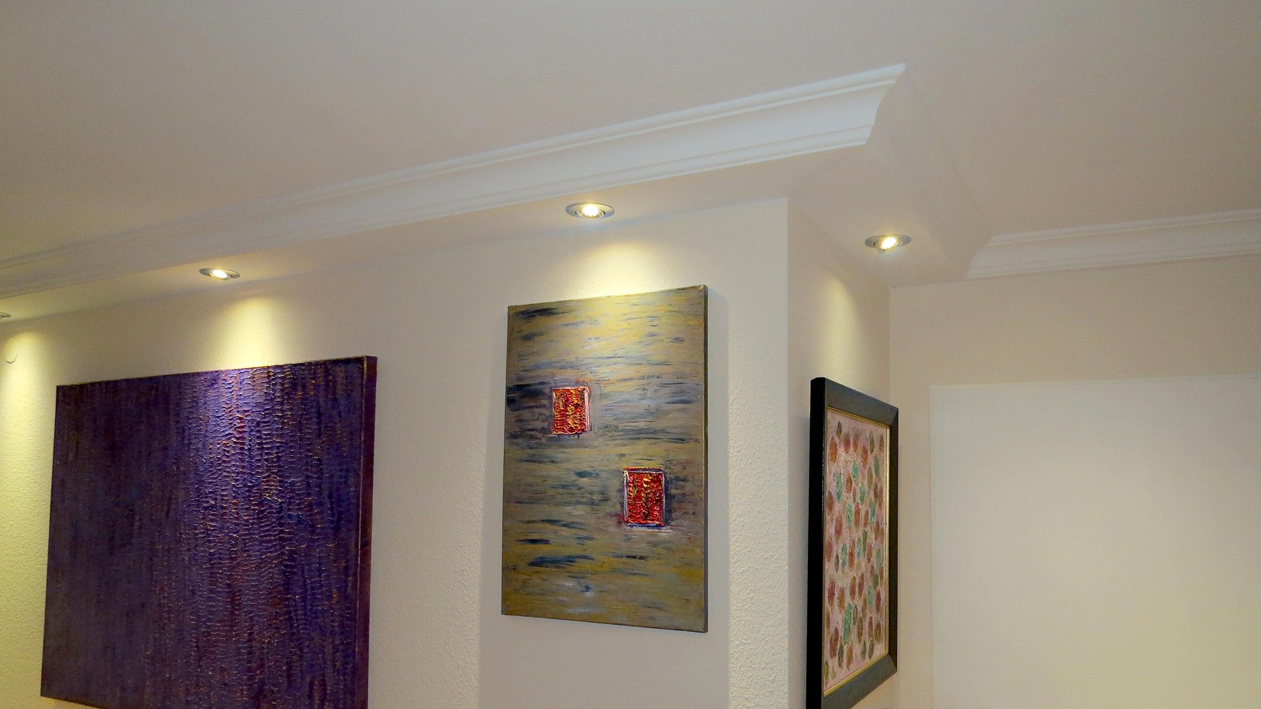Deckenprofile Fur Die Direkte Led Beleuchtung Der Wand