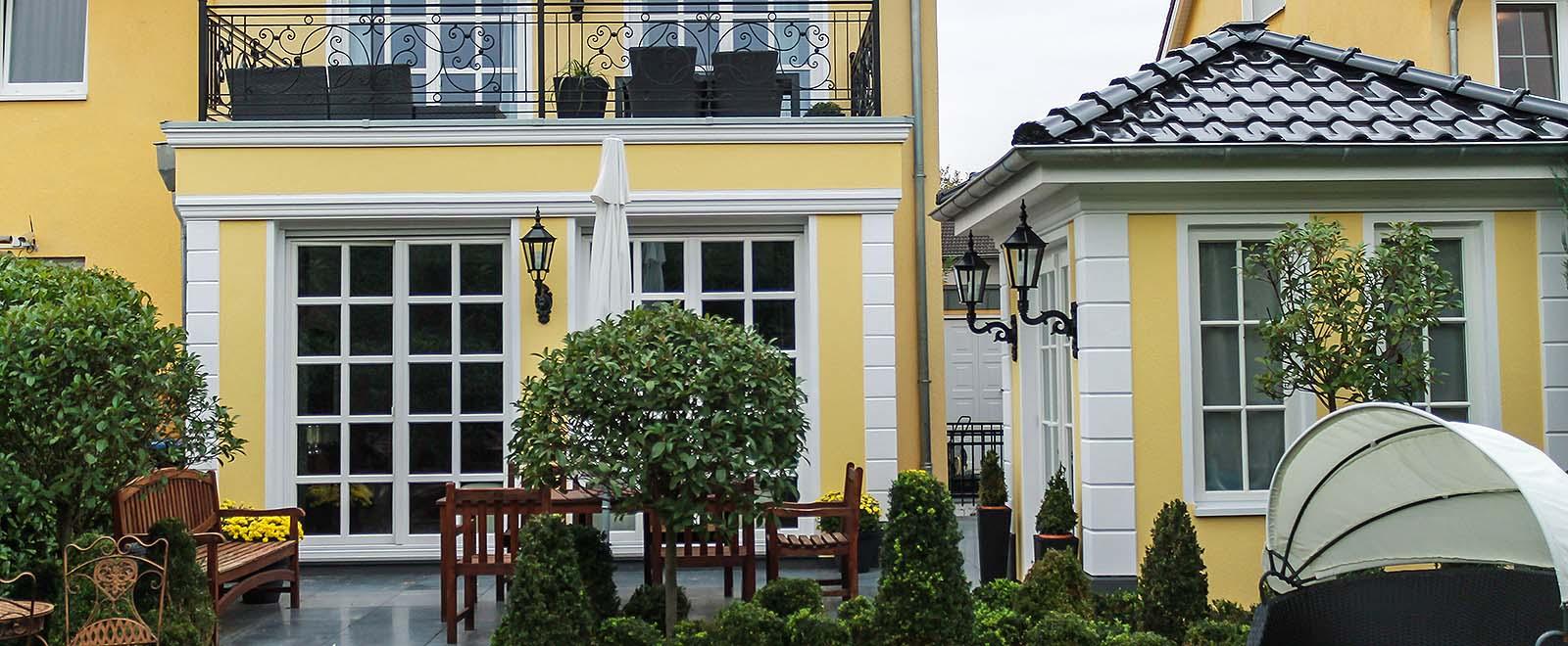 Bossensteine für die Gestaltung der Ecken einer Hausfassade – Praktische Tipps zum selber machen