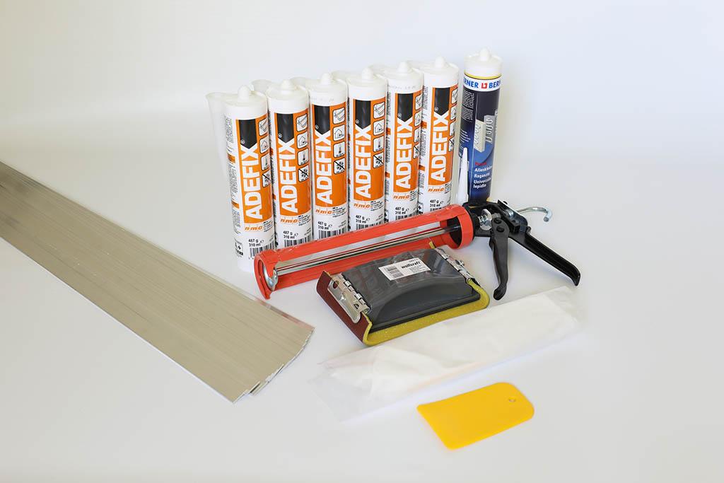 Wichtiges Zubehör für die Montage einer indirekten Beleuchtung mit LED Stuckleisten