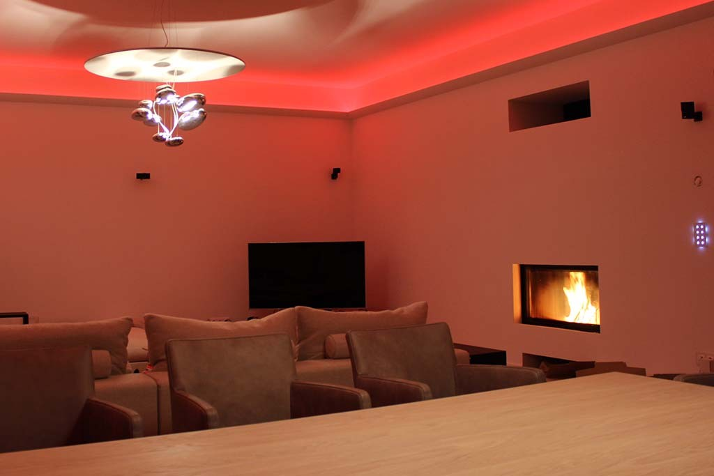 Indirect Lighting Of The Ceiling With Led Stucco Strips Tips Information