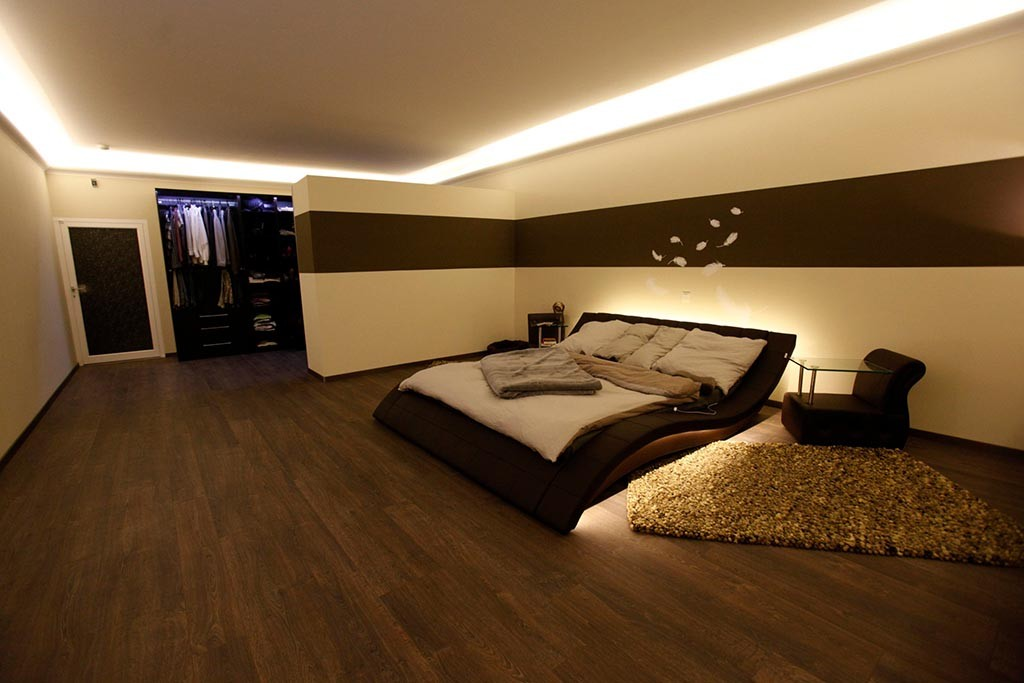 indirekte beleuchtung im schlafzimmer sch ne ideen bendu. Black Bedroom Furniture Sets. Home Design Ideas