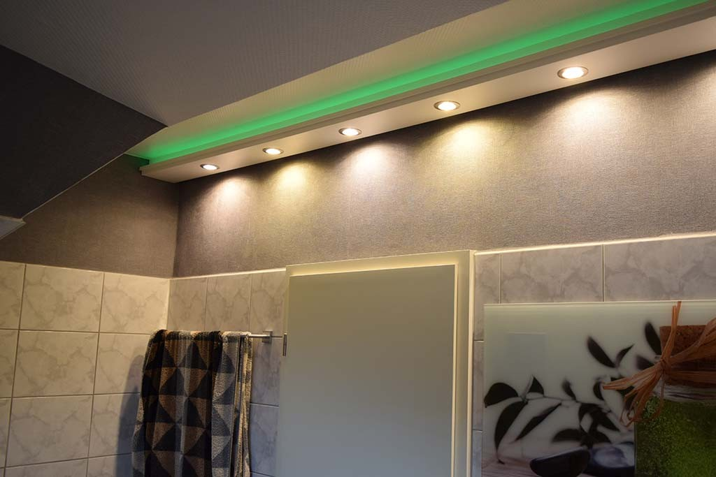 Direct And Indirect Lighting Of Wall Ceiling Installation Tips
